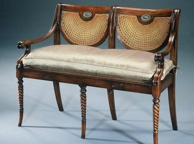 Love Seat by Theodore Alexander